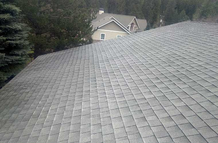 Coeur d'Alene roof cleaning